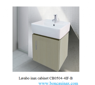 Lavabo inax cabinet CB0504-4IF-B